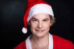 克劳斯纵向圣诞老人 免版税库存照片