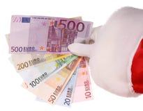 克劳斯组货币圣诞老人作为 免版税库存照片