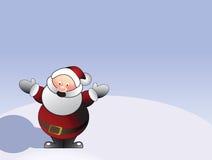 克劳斯说明圣诞老人 向量例证