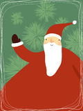 克劳斯逗人喜爱的圣诞老人 库存照片