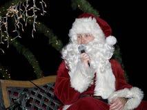 克劳斯部门东部火湖圣诞老人 免版税库存照片