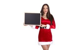 克劳斯・圣诞老人妇女 免版税库存照片