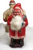 克劳斯mache纸张圣诞老人玩具 免版税库存图片