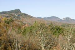 克劳福德山谷新罕布什尔,新英格兰白色山的国家公园  库存图片