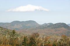 克劳福德山谷新罕布什尔,新英格兰白色山的国家公园  库存照片