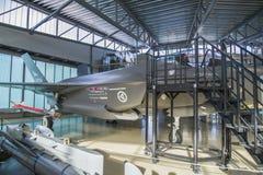 洛克希德马丁公司f-35a闪电II 库存图片