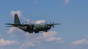洛克希德C-130B赫拉克勒斯 库存照片