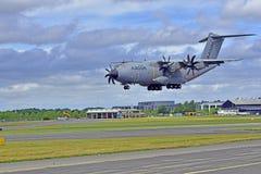洛克希德c-130Hercules着陆 图库摄影