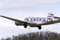 洛克希德Electra 10A葡萄酒飞机飞行 库存照片
