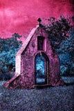 巴洛克式的修道院废墟  库存图片