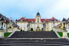 巴洛克式的城堡Valtice 免版税库存照片