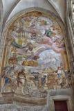 巴洛克式的壁画 免版税库存照片