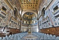 巴洛克式的大教堂 库存照片