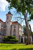 巴洛克式的宫殿在奥特沃茨克Wielki 图库摄影