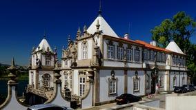 巴洛克式的宫殿 免版税库存照片