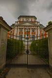 巴洛克式的教会- Schlosskirche Buch - Alt的Buch柏林 免版税图库摄影