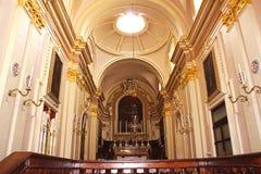 巴洛克式的教堂 库存照片