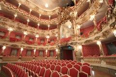 巴洛克式的歌剧院 库存照片