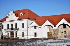 巴洛克式的皇家槽枥、洛林, 1745-1773,其中任一KopÄ 的弗朗西斯一部分的住所和庄园,斯洛伐克,马 库存图片
