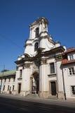 巴洛克式的Bonifatrow教会在克拉科夫 库存图片