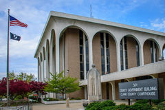 克拉克县法院大楼 库存图片