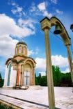 克拉古耶瓦茨的新的受难者教会,纪念博物馆和公园10月21日位于在克拉古耶瓦茨,塞尔维亚 库存图片