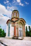 克拉古耶瓦茨的新的受难者教会,纪念博物馆和公园10月21日位于在克拉古耶瓦茨,塞尔维亚 免版税库存照片