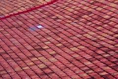 克拉拉・古巴屋顶圣诞老人瓦片 库存图片