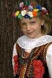 克拉科夫女孩 免版税图库摄影