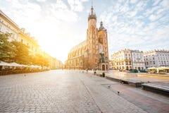 克拉科夫市在波兰 免版税库存照片