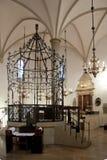 克拉科夫波兰犹太教堂 免版税库存图片