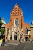 克拉科夫老波兰城镇 免版税图库摄影