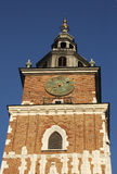 克拉科夫钟楼 免版税图库摄影