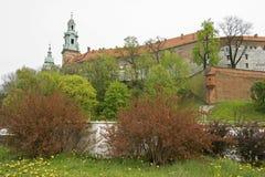 克拉科夫Wawel 免版税图库摄影