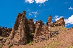 克拉诺单位岩石 免版税库存照片