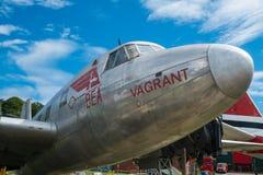 维克斯498北欧海盗1A飞机 免版税库存图片