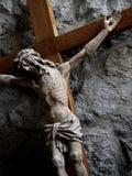 克服耶稣 免版税库存照片