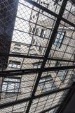 克格勃监狱院子里加 免版税库存图片