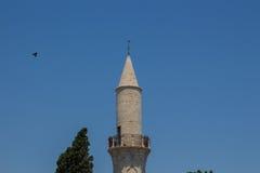 克比尔清真寺,拉纳卡,塞浦路斯 库存照片