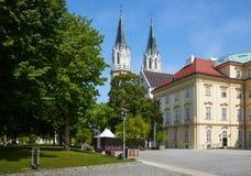 克洛斯特新堡修道院,维也纳,奥地利 免版税库存图片