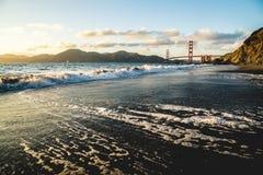 贝克海滩加利福尼亚 免版税图库摄影