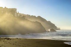 贝克海滩在旧金山 免版税库存图片