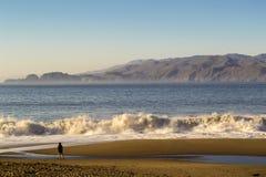 贝克海滩在旧金山 免版税图库摄影