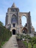 克罗兰修道院 库存照片