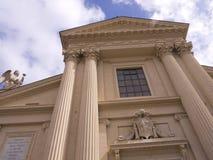 克罗地亚人的圣杰罗姆教会在罗马意大利 免版税库存图片