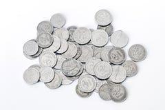克罗地亚人铸造钞票 免版税库存图片