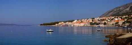 克罗地亚全景 库存图片