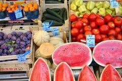 克罗地亚农夫的市场 库存图片