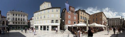 克罗地亚分开的城镇 库存照片