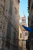 克罗地亚分开的城镇 库存图片